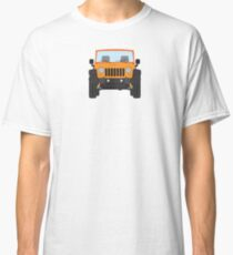 Jeep Wrangler (orange) Classic T-Shirt