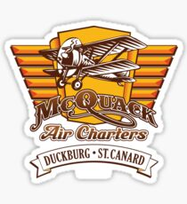 McQuack Air Charters Sticker