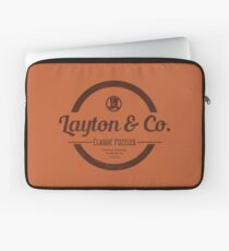 Layton & Co. Classic Puzzles Laptop Sleeve