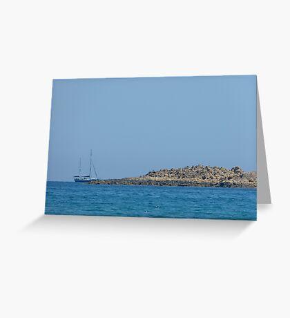 Island rest Greeting Card