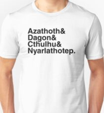 Azathoth&... (Alternate Black Version) T-Shirt