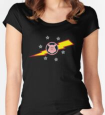 Pigs in Space Women's Fitted Scoop T-Shirt