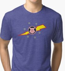 Pigs in Space Tri-blend T-Shirt