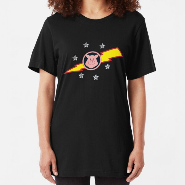 Pigs in Space Slim Fit T-Shirt