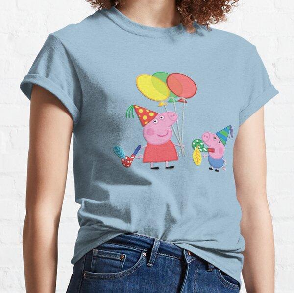 Little pig peppa birthday Classic T-Shirt