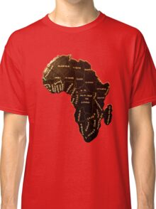 Africa the most beautiful continent Classic T-Shirt