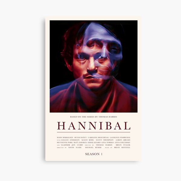 Hannibal - Season 1 Canvas Print
