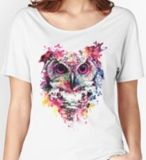 Owl Women's Relaxed Fit T-Shirt