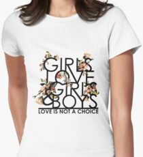 GIRLS/GIRLS/BOYS Women's Fitted T-Shirt