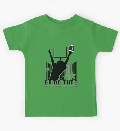 Game Time - Football (Green) Kids Clothes