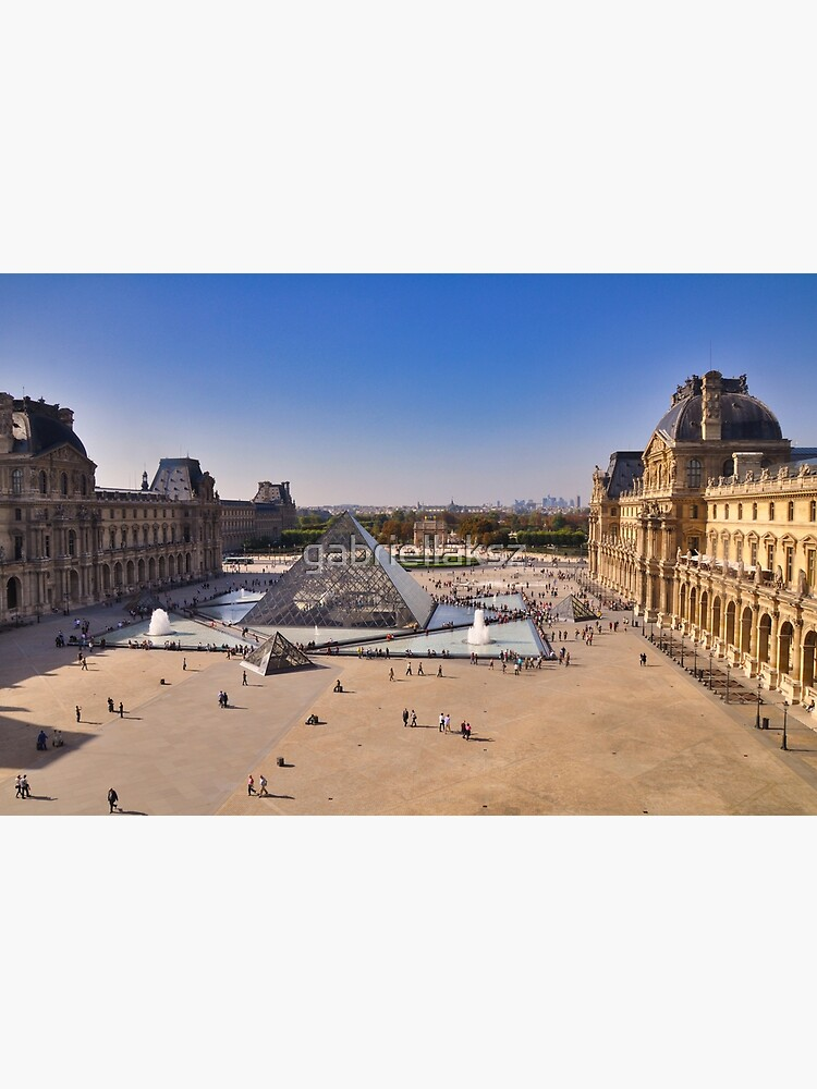 View from the Louvre, Paris by gabriellaksz