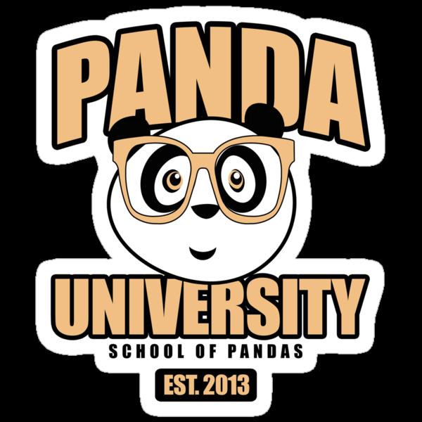 Panda University - Yellow 2 by Adamzworld