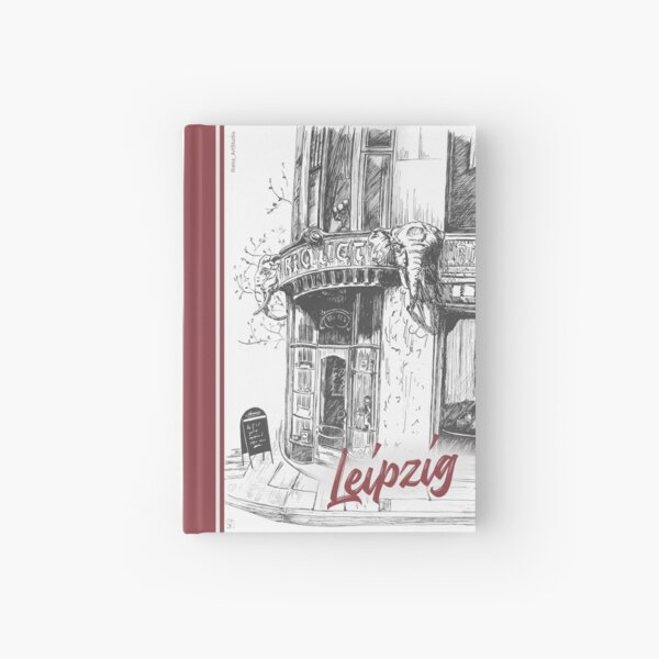 Riquethaus Leipzig, coffee house Hardcover Journal