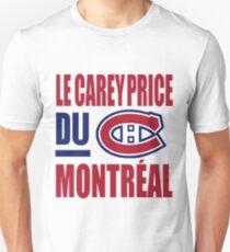 Le Carey Price du Montreal T-Shirt