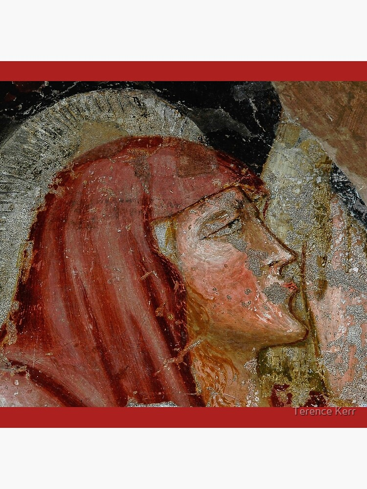 Mary Magdalene kisses the feet of crucified Christ by TerenceKerr