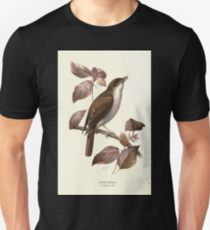 Familiar wild birds Swaysland 1883 V1 087 Nightingale T-Shirt