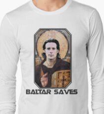 baltar saves Long Sleeve T-Shirt