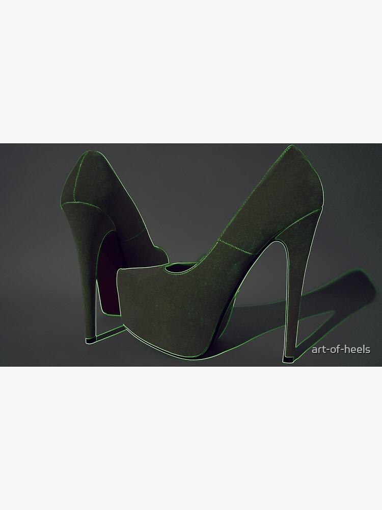 Neon stiletto heels 2 by art-of-heels