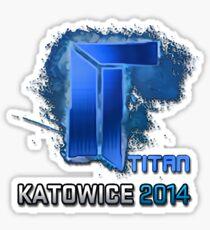 Titan Sticker Sticker
