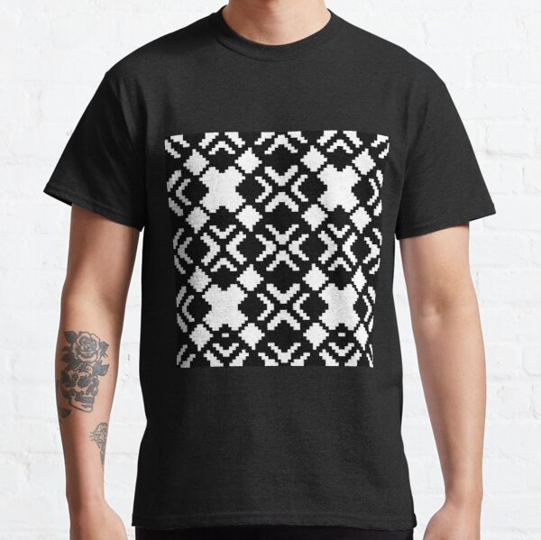 Geometric Abstraction Decorative Pattern Classic T-Shirt