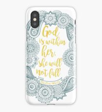 Psalm 46:5 iPhone Case/Skin