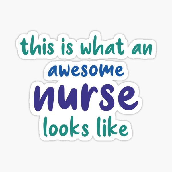 Nurse sayings sexy Redbubble logo