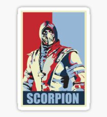 scorpion mkx hope Sticker