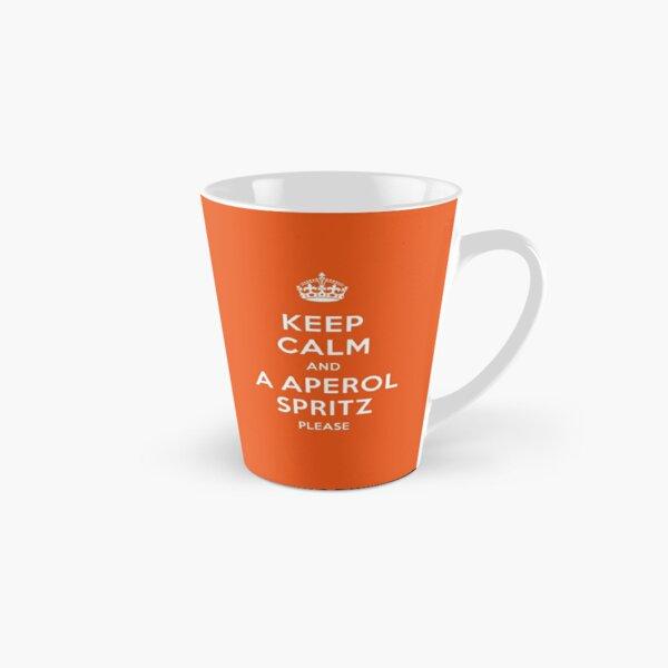Keep calm Aperol Spritz Spruch Tasse (konisch)