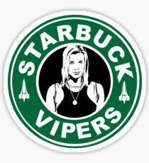 starbuck starbucks shirt Sticker