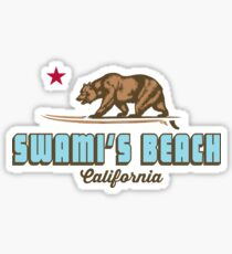 Swami's Beach - California. Sticker