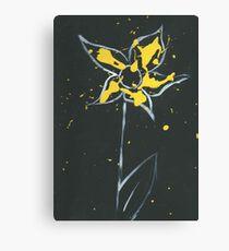 Yellow Paint Canvas Print