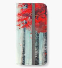 화양연화 - Dead Leaves iPhone Wallet/Case/Skin