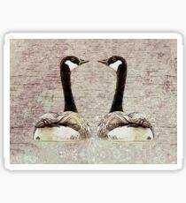 A Monogamous Pair Sticker