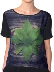 Forest Magick  Chiffon Top