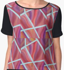 Pieces of Me Energy Painting  Chiffon Top