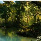 Forrest corner Landscape by Ldarro
