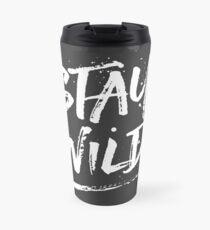 Stay Wild - White Travel Mug