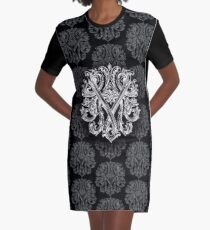 """YAMOLODOY"" Design pattern Graphic T-Shirt Dress"