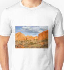 Rainbow Vista Lit by a Partial Solar Eclipse Unisex T-Shirt