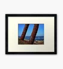 Trip to Wollongong Harbour (4) Framed Print