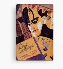 Caligari Poster 1 Canvas Print