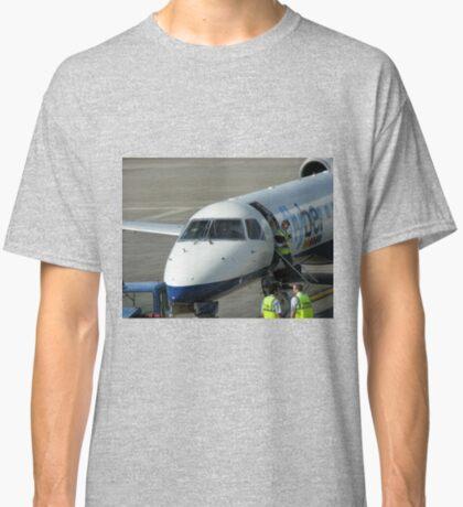 Glückliche Landungen - Flughafen Edinburgh Classic T-Shirt