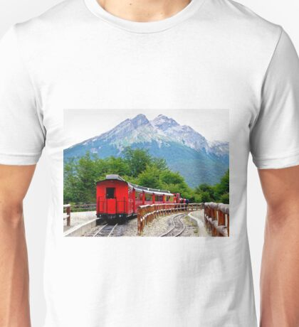The End of the World Train T-Shirt