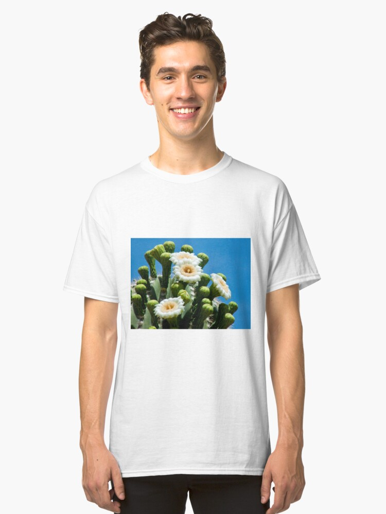 Saguaro in May Classic T-Shirt Front