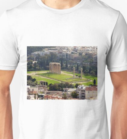 View of The Temple of the Olympian Zeus from the Acropolis T-Shirt