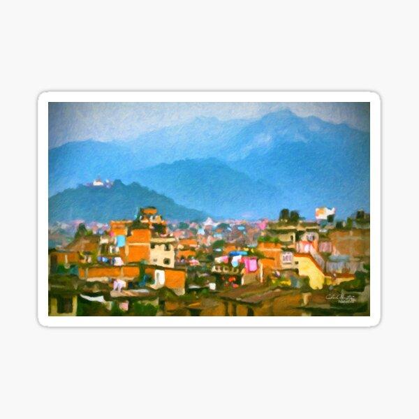 Kathmandu, Nepal Sticker