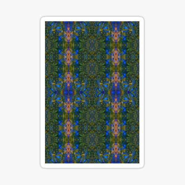 Lithoviso Steindesign: Muster aus selbstgefundenen Edelstein: Jaspis # 6 Sticker