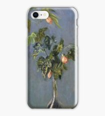 Claude Monet - Flowers In A Vase Impressionism iPhone Case/Skin