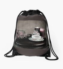 Olde Time Tea Party Setting for One Drawstring Bag
