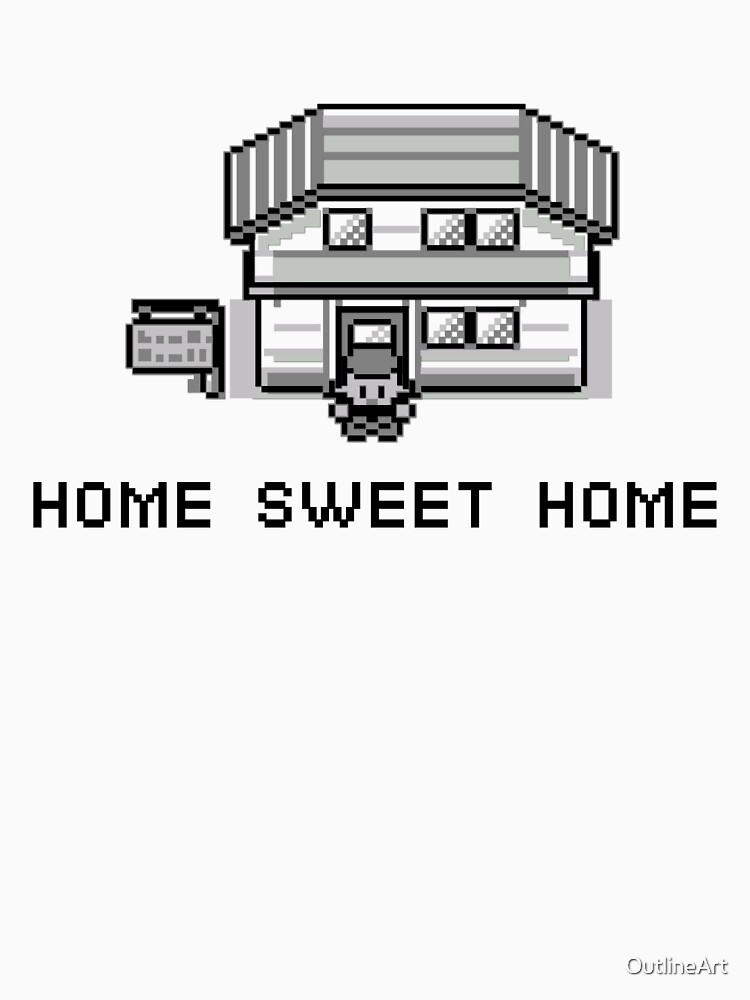 Pokemon Home Sweet Home by OutlineArt